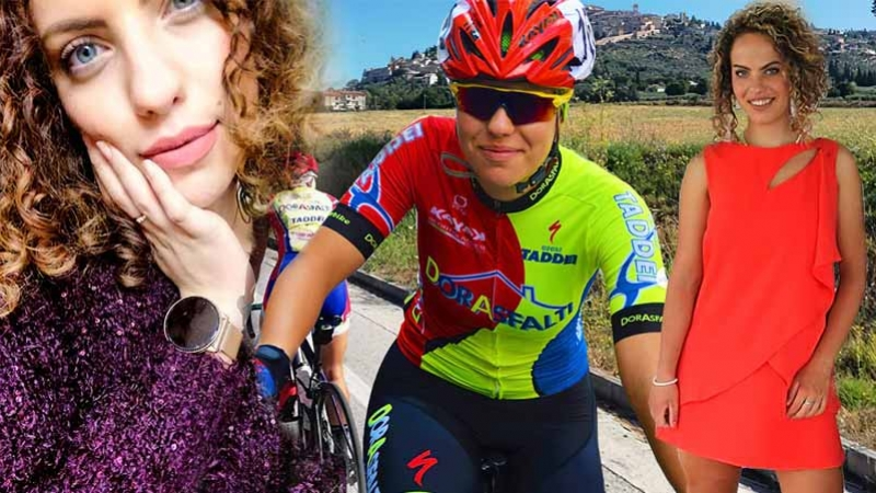 "Federica Severi a ""Cicliste in streaming"""