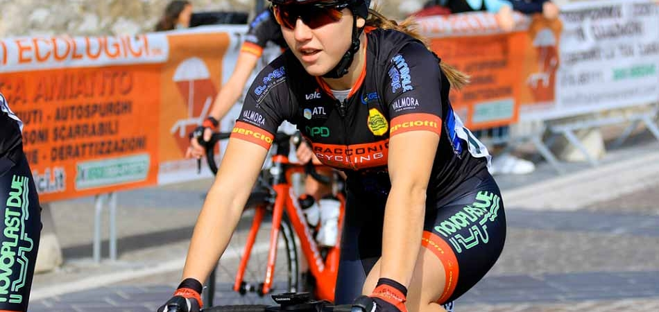 "Valentina Basilico in pista alla ""International Piceno Sprint Cup"""